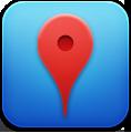 Blue, Google, Places icon