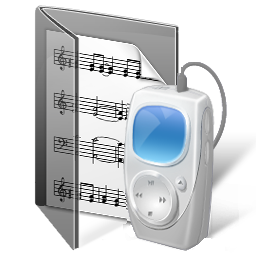 music, folder, my music icon