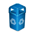 trash, garbage, recycle bin icon