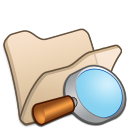 folder beige explorer icon
