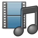 applications multimedia icon
