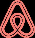 logo, airbnb, network, social, brand icon