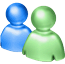 chat, people, live chat, msn, messenger, msn mesenger, windows live messenger, community network icon