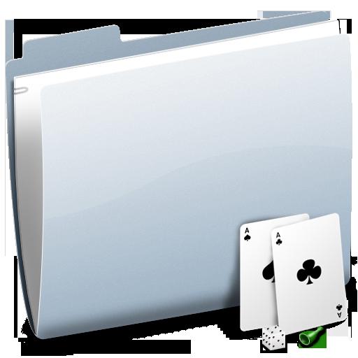 gaming, folder, game icon