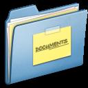blue,document,file icon