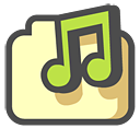 shared, music icon