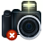 camera, delete, remove, del, photography icon