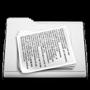 white, paper, document, file, folder icon
