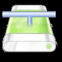 drive green network icon