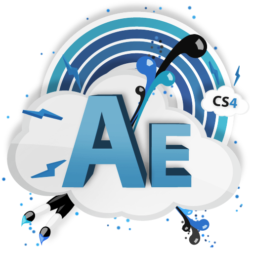 ae, cs4, cs, adobe icon