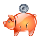 money, bank, piggy, saving icon
