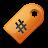 yellow, tag icon