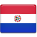 paraguay,flag,country icon