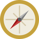location, direction, navigation, arrow, navigate, compass, pointer icon