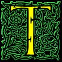 Letter t icon