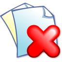 edit delete icon