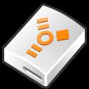hard disk, hard drive, firewire, hdd icon