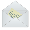 mail, email, letter, message, envelop icon