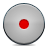 grey, button, record icon