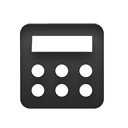 calc, calculation, calculator icon