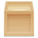 wood, inventory, box icon