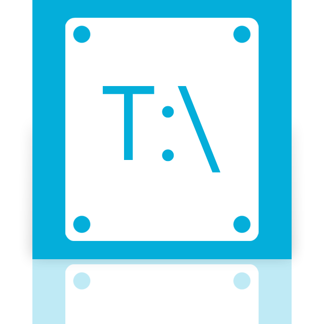 t, mirror icon