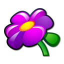 Flower, Plant icon
