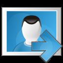 picture arrow right icon