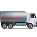 FuelTankTruck Right Grey icon