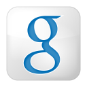 social google box white icon