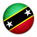 of, and, nevis, kitts, flag, saint icon