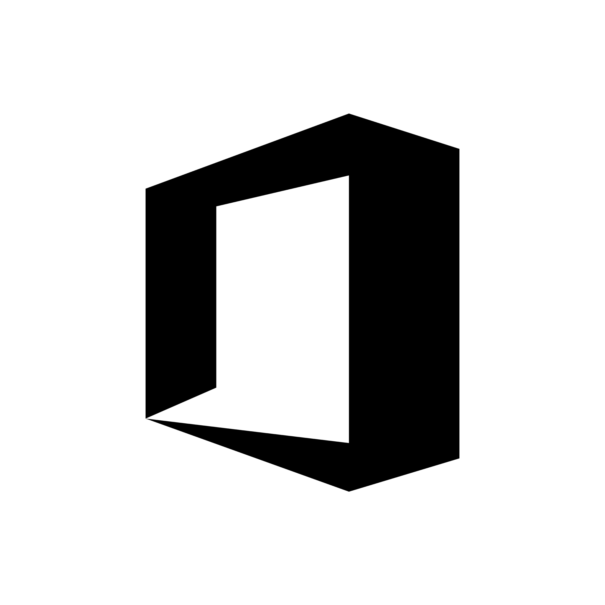 Office Black Icon Png