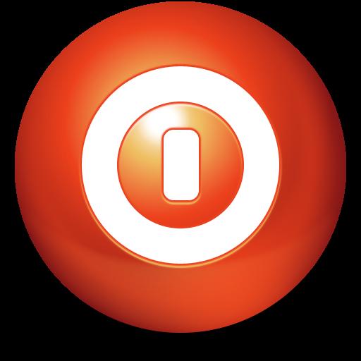 turn off, ball, shutdown, cute, shut down, power off icon