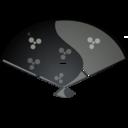 fan,black icon