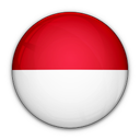 indonesia, flag, of icon