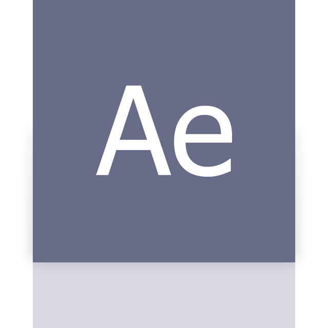 adobe, mirror, after, effects icon