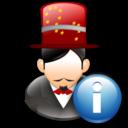 Info, Magician icon