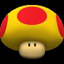 super mario, mushroom, mega icon