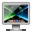 legacy, screen, glossy, tron icon