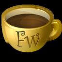 firework, coffee icon