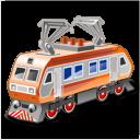 electric locomotive icon