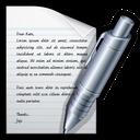 word, edit, write, text icon