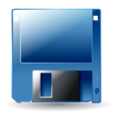 disk, hot icon
