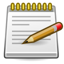 Accessories, Editor, Text icon