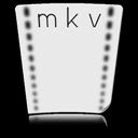 document, file, paper, mkv icon