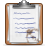full, clipboard icon