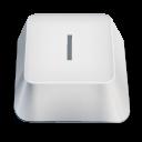 letter uppercase I icon