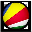 of, flag, seychelles icon