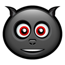 monster, halloween, bat icon