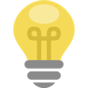idea, lamp, thought, energy, bulb, electric, light icon
